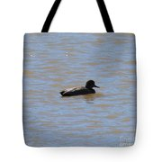 Duck On The Lake Tote Bag