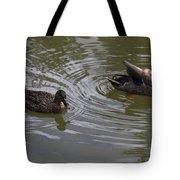 Duck Pair Tote Bag