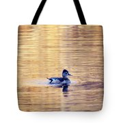 Duck Pond 3 Tote Bag