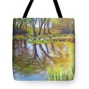 Duck Pond I Tote Bag