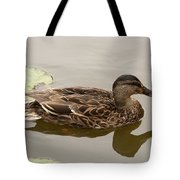 Duck Reflecting Tote Bag
