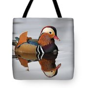 Duck Reflection Tote Bag