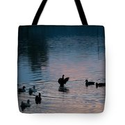 Duck Show Off Tote Bag