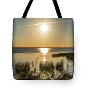 Duck Town Sunset II Tote Bag