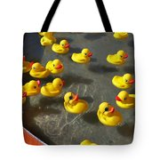Duckies Tote Bag
