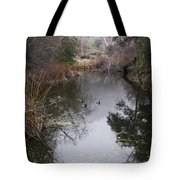 Ducks From The Bridge Tote Bag