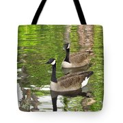 Ducks Out For A Swim Tote Bag
