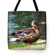 Ducky Day  Tote Bag