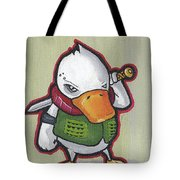 Ducky Death Tote Bag