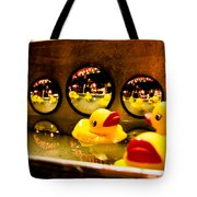 Ducky Reflections Tote Bag