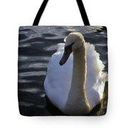 Duddingston Swan 13 Tote Bag