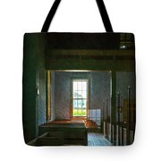 Dudley's Chapel Window - Painting Effect Tote Bag