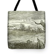 Duel Between Alexander Hamilton And Aaron Burr Tote Bag