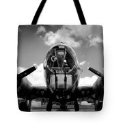 Duel Fifty Caliber Tote Bag