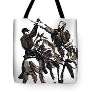 Dueling Sabres Tote Bag