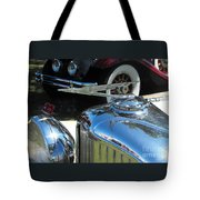 Duesenberg Hood Ornament  Tote Bag