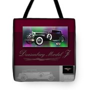 Duesenberg Model J Tote Bag