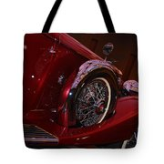 Duesenberg Side View Tote Bag
