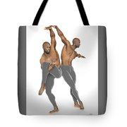 Dueto De Danza Tote Bag
