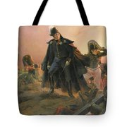 Duke Of Angouleme At The Capture Of Trocadero Tote Bag