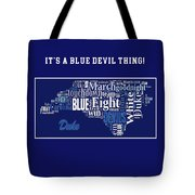 Duke University Fight Song Products Tote Bag