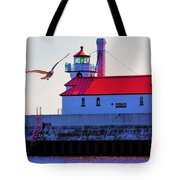 Duluth Lighthouse Tote Bag