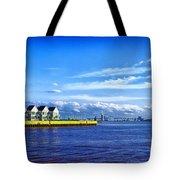 Duluth Minnesota Harbor Tote Bag