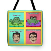 Dumb Rick Perry/smart Rick Perry Tote Bag