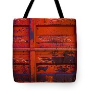 Dump Truck Tote Bag by Barbara Schultheis