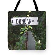 Duncan Ln Tote Bag