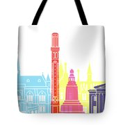 Dundee Skyline Pop Tote Bag