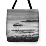 Dundrum The Old Boat Wreck Tote Bag