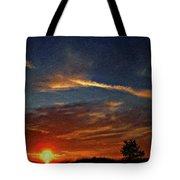 Dune Dreaming Impasto Tote Bag