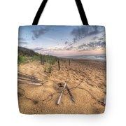 Dune Fencing Down Tote Bag