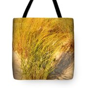 Dune Grass II  - Jersey Shore Tote Bag by Angie Tirado