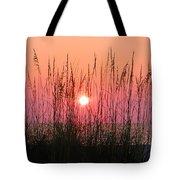 Dune Grass Sunset Tote Bag