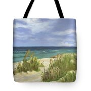 Dune Grasses Tote Bag