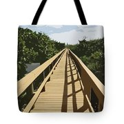 Dune Walk Tote Bag