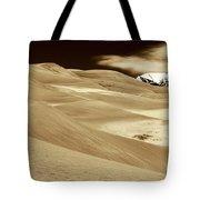 Dunes And Peak Tote Bag