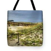 Dunes At Tybee Island Tote Bag