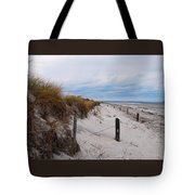 Dunes On A Blustery Day Tote Bag