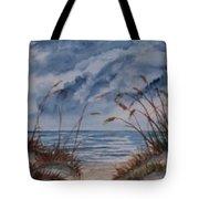 Dunes Seascape Fine Art Poster Print Seascape Tote Bag