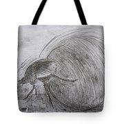 Dung Beetle Tote Bag