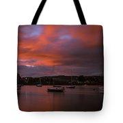Dungarvan Harbor Sunset 2 Tote Bag