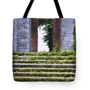 Dungeness Front Steps  Tote Bag