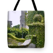 Dungeness Ruins Tote Bag