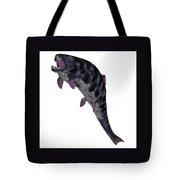 Dunkleosteus Fish On White Tote Bag