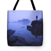 Dunks Point At Sunrise Tote Bag
