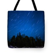 Dunks Point Star Trail Tote Bag