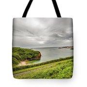 Dunmore East Cliffs Tote Bag